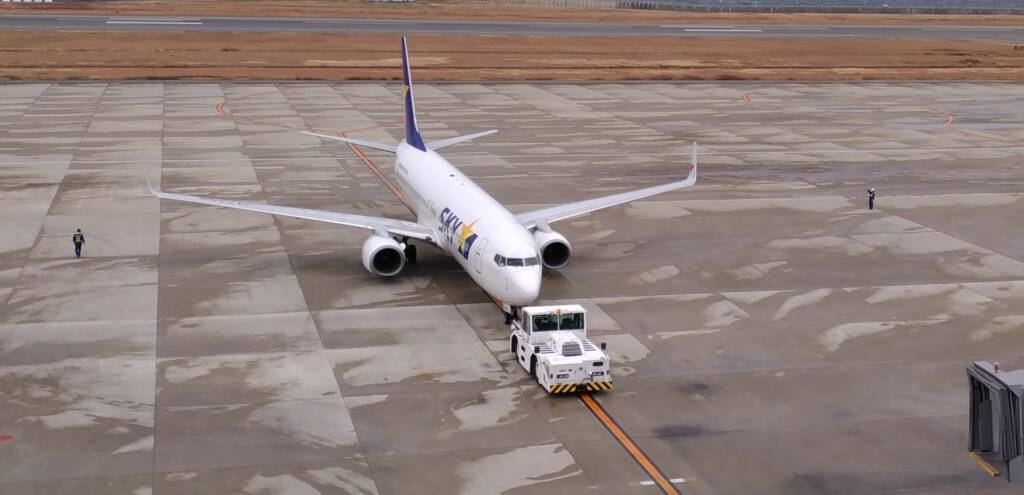 神戸空港 スカイマーク