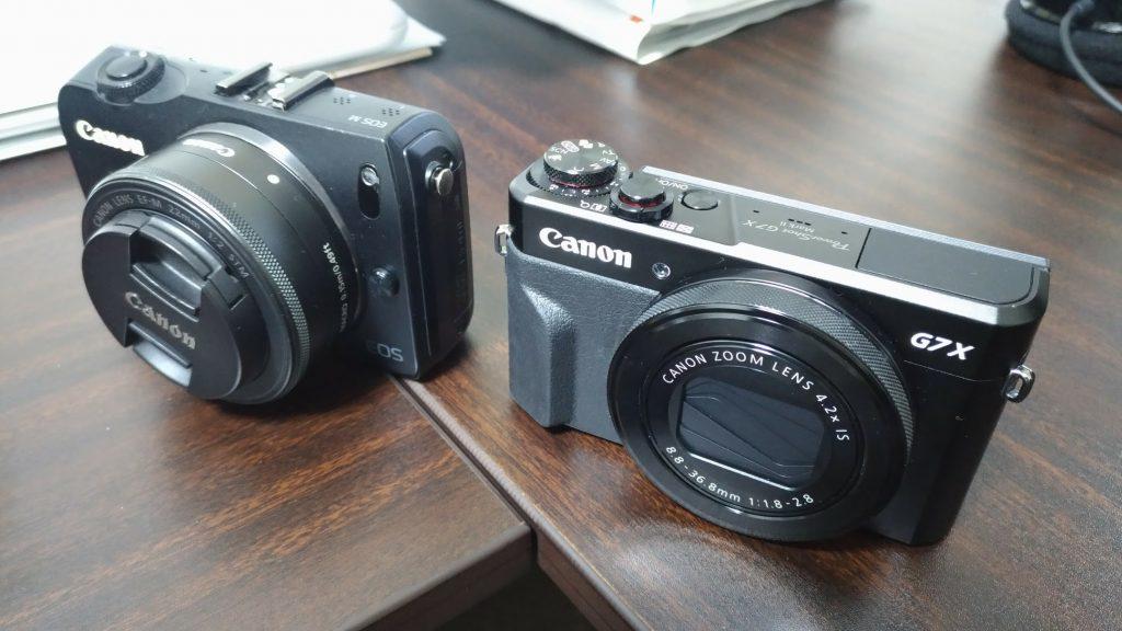 EOS-M G7X Mark2比較