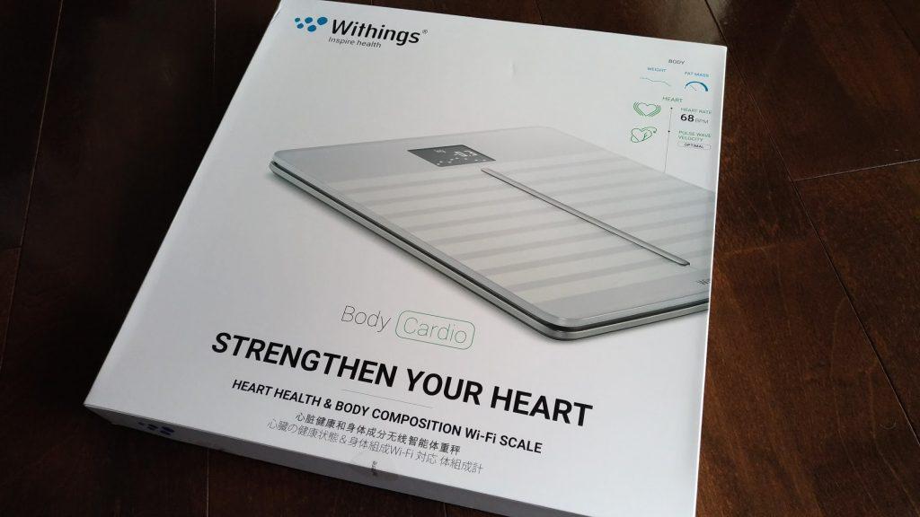 Withing Body Cardio Wi-Fi体重計