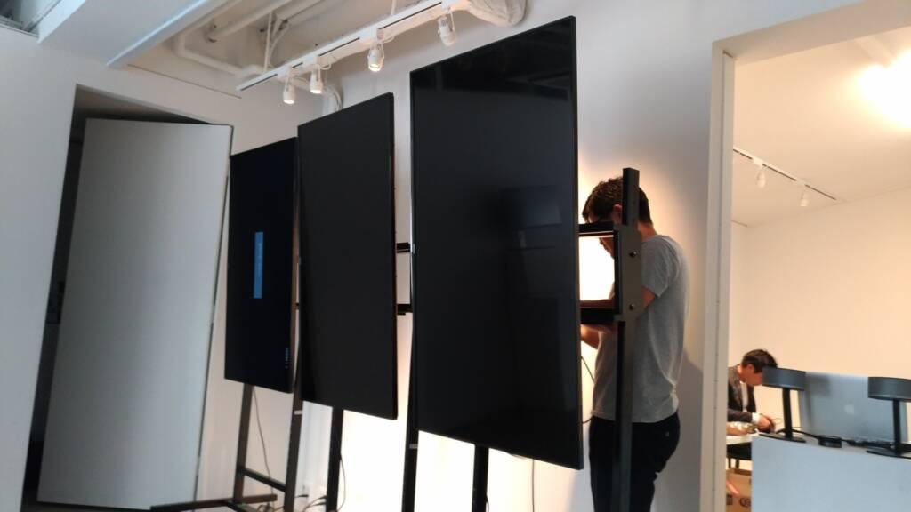 AVII IMAGE WORKSさんのデジタルサイネージ展示会を見てきた