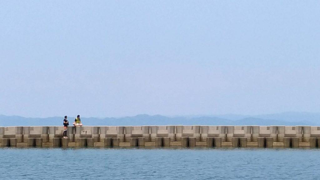 さぬき広島 海水浴