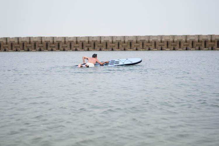 さぬき広島 サップ SUP ヨガ