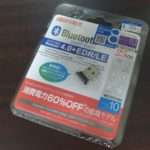 Bluetooth®4.0+EDR/LE対応 USBアダプター BSHSBD08BK