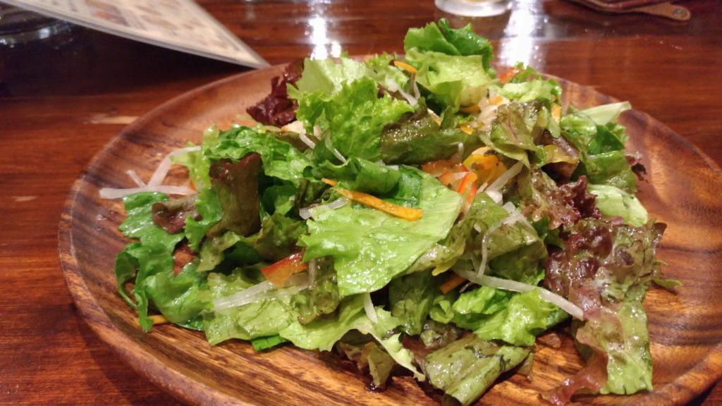 ニョッキ 塩サラダ
