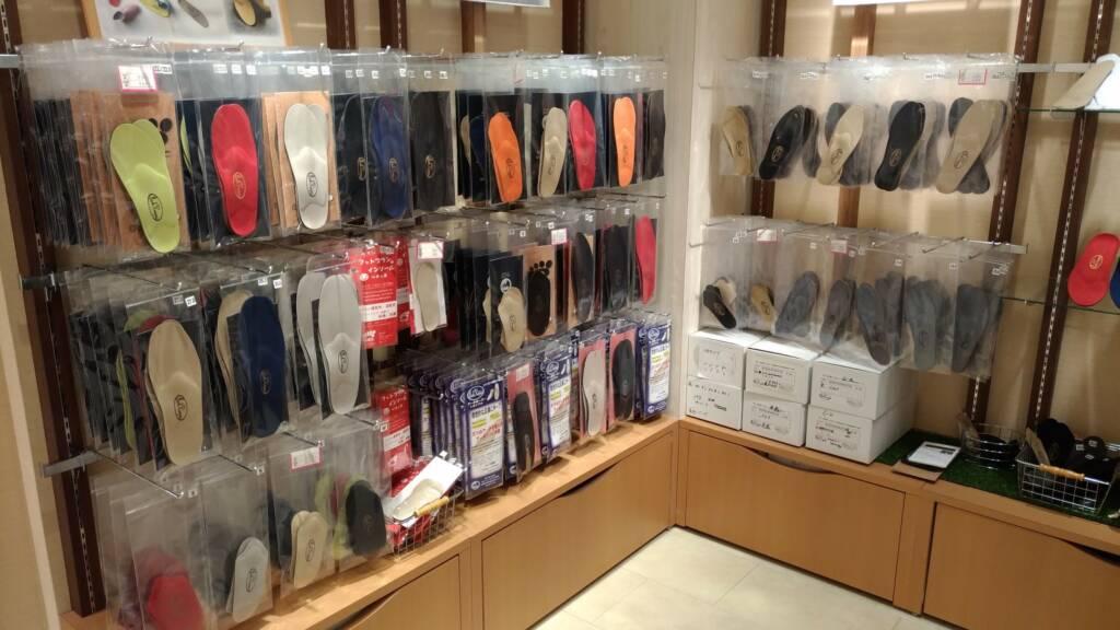 神戸国際会館B1Fフットプランでインソール『アーチキーパー』を購入