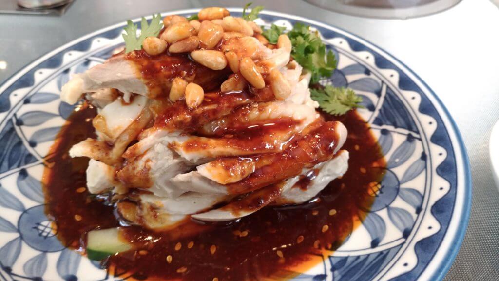 四川 蒸し鶏