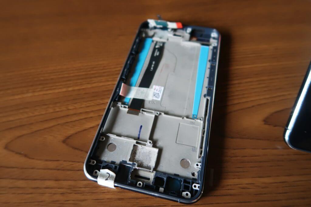 Zenfone3 Degitizer 液晶ディスプレイ フレーム アッセンブリ