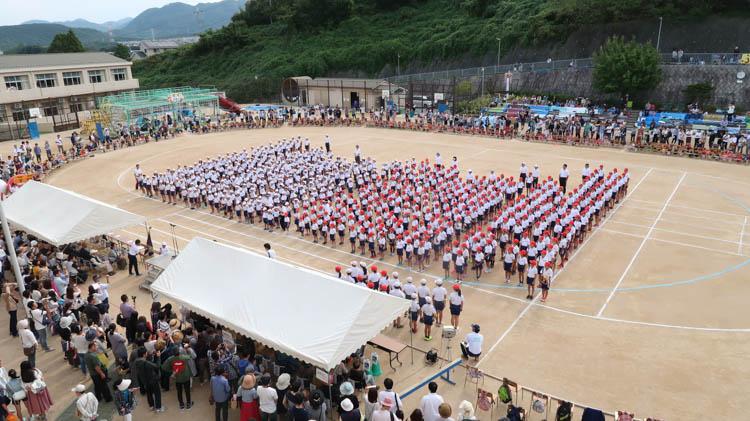 小学生の長女の運動会