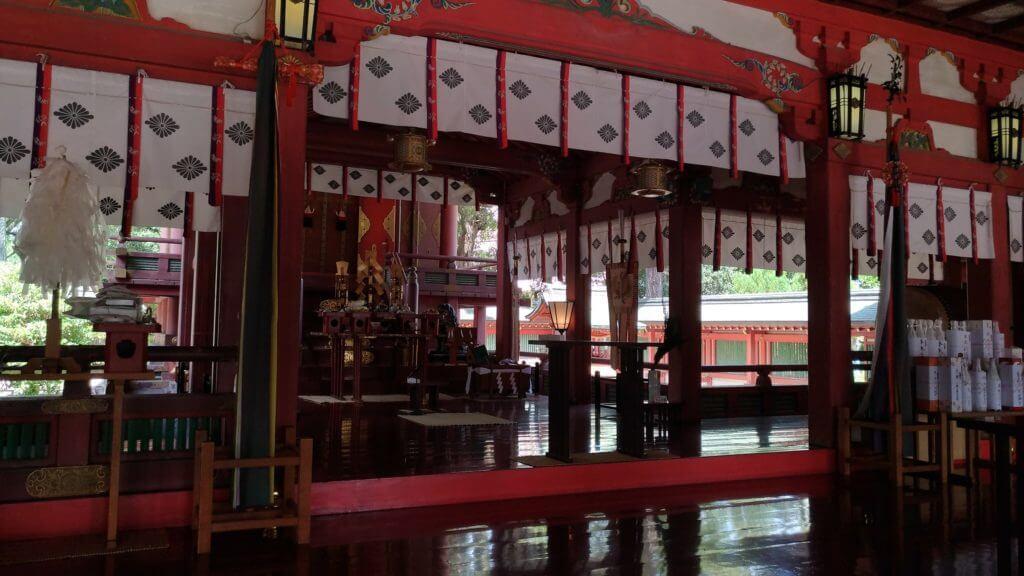 長田神社 本殿