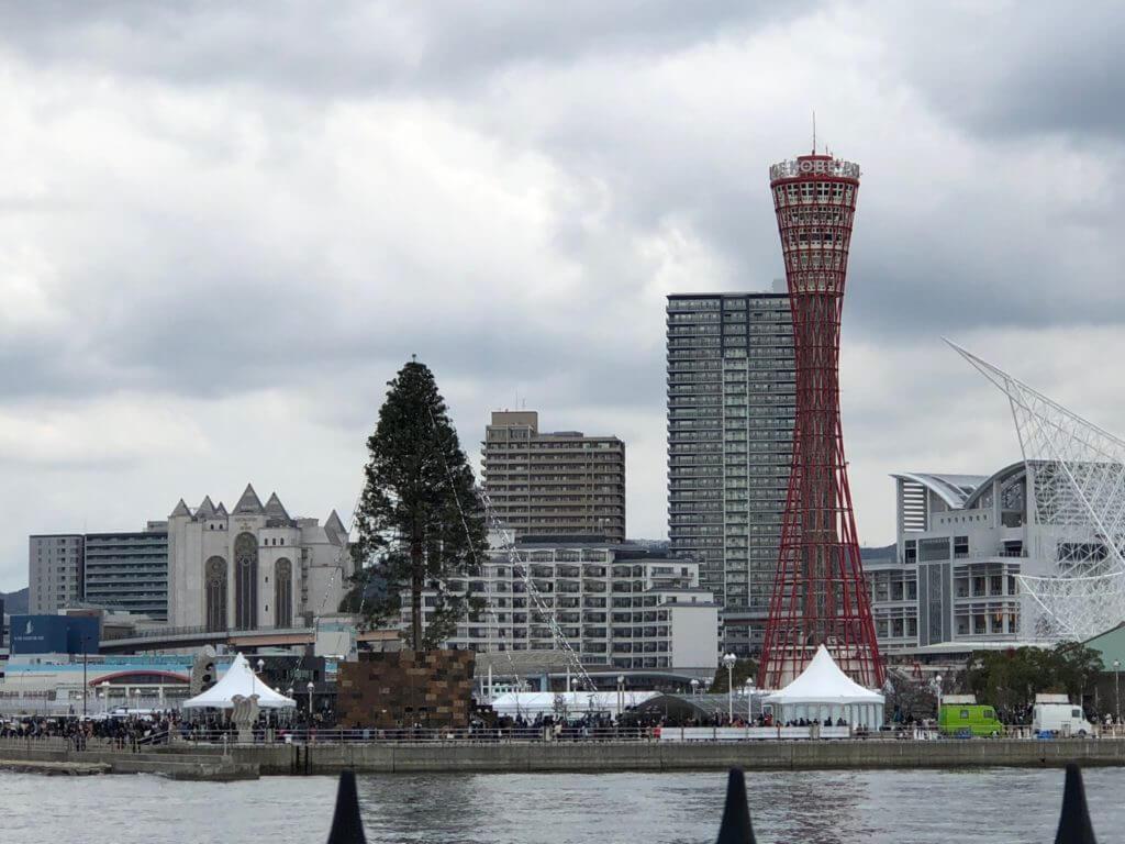 神戸開校150周年記念 クリスマスツリー