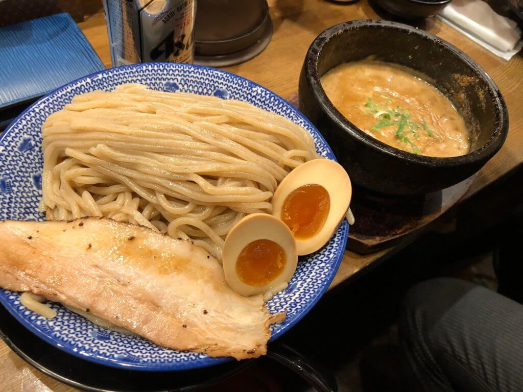 谷上駅 つけ麺 あらなみ屋