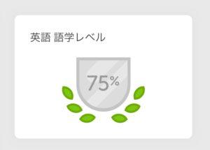 Duolingo デュオリンゴ 英語学習レベル