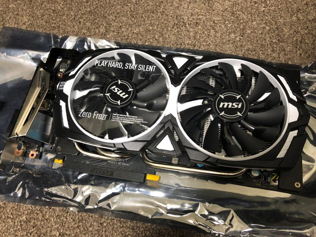 MSI ARMOR GeForce 1070