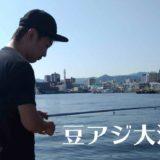 豆アジ大漁
