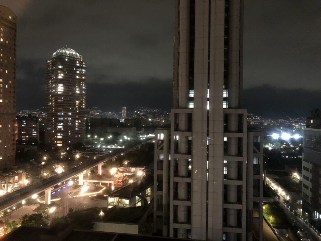 神戸ベイシェラトン 夜景