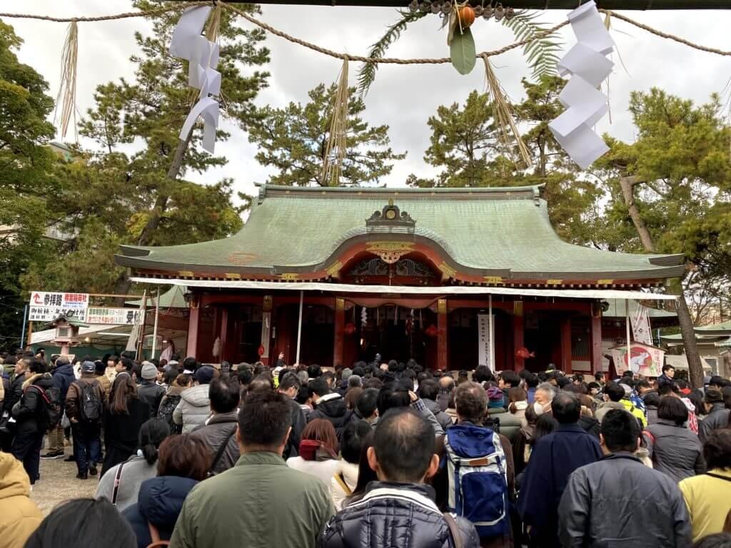 長田神社 初詣