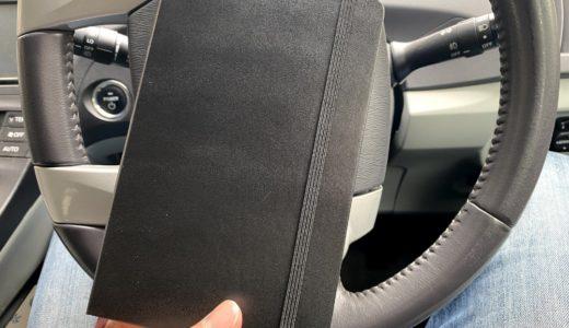 モレスキン クラシック ノートブック ハードカバー ミディアムサイズ ブラック 方眼