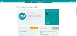 Arduino IDEをダウンロードしてインストールして基盤のLEDを光らせた