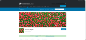 WordPress内の文字の置き換えやhtmlタグの置き換えは「Search Regex」を使う