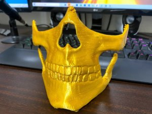 3Dプリント スカルマスク